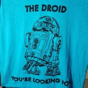 👕 Women's Juniors Star Wars tee R2D2 droids